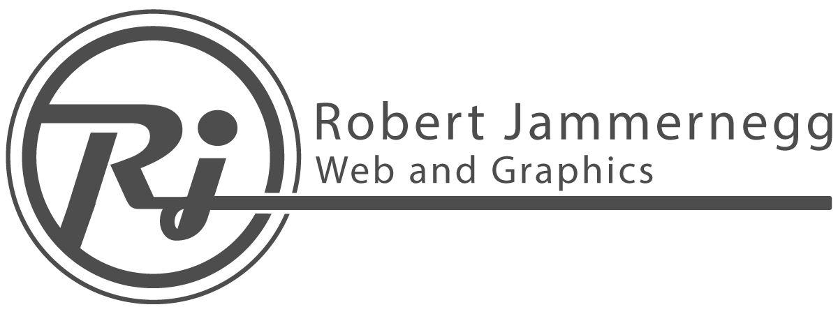 Logo Robert Jammernegg Web and Graphics